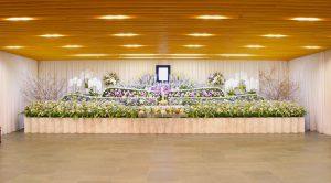 観音堂 葬儀風景