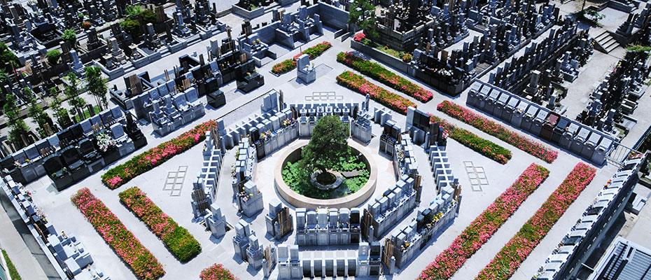 有期型墓所風景